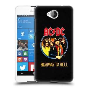 Plastové pouzdro na mobil Microsoft Lumia 650 HEAD CASE AC/DC Highway to Hell