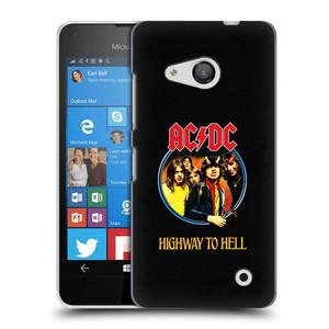 Plastové pouzdro na mobil Microsoft Lumia 550 HEAD CASE AC/DC Highway to Hell