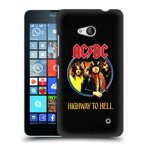 Plastové pouzdro na mobil Microsoft Lumia 640 HEAD CASE AC/DC Highway to Hell