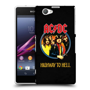 Plastové pouzdro na mobil Sony Xperia Z1 Compact D5503 HEAD CASE AC/DC Highway to Hell