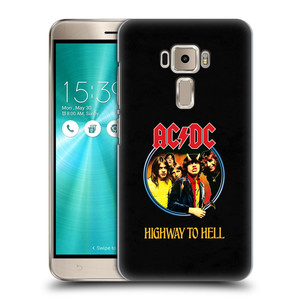 Plastové pouzdro na mobil Asus ZenFone 3 ZE520KL HEAD CASE AC/DC Highway to Hell