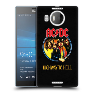 Silikonové pouzdro na mobil Microsoft Lumia 950 XL HEAD CASE AC/DC Highway to Hell
