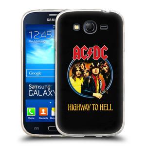 Silikonové pouzdro na mobil Samsung Galaxy Grand Neo Plus HEAD CASE AC/DC Highway to Hell