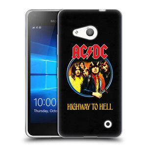Silikonové pouzdro na mobil Microsoft Lumia 550 HEAD CASE AC/DC Highway to Hell