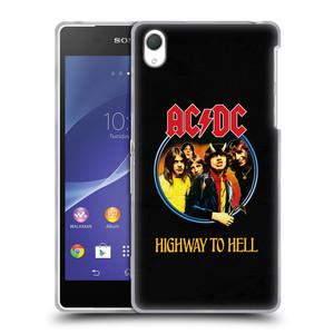 Silikonové pouzdro na mobil Sony Xperia Z2 D6503 HEAD CASE AC/DC Highway to Hell
