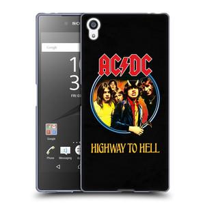 Silikonové pouzdro na mobil Sony Xperia Z5 Premium HEAD CASE AC/DC Highway to Hell