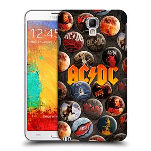 Plastové pouzdro na mobil Samsung Galaxy Note 3 Neo HEAD CASE AC/DC Placky