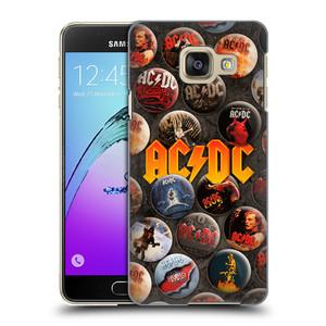 Plastové pouzdro na mobil Samsung Galaxy A3 (2016) HEAD CASE AC/DC Placky