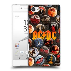 Plastové pouzdro na mobil Sony Xperia Z5 Compact HEAD CASE AC/DC Placky