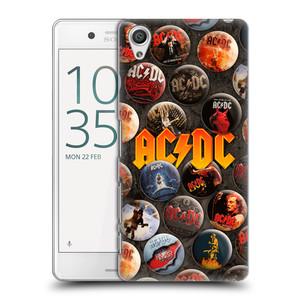 Plastové pouzdro na mobil Sony Xperia X Performance HEAD CASE AC/DC Placky