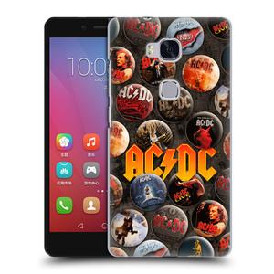 Plastové pouzdro na mobil Honor 5X HEAD CASE AC/DC Placky