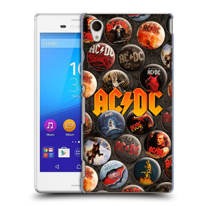 Plastové pouzdro na mobil Sony Xperia M4 Aqua E2303 HEAD CASE AC/DC Placky