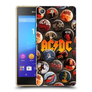 Plastové pouzdro na mobil Sony Xperia M5 HEAD CASE AC/DC Placky