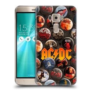 Plastové pouzdro na mobil Asus ZenFone 3 ZE520KL HEAD CASE AC/DC Placky