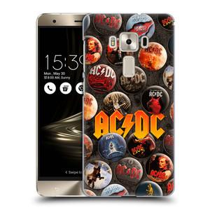 Plastové pouzdro na mobil Asus ZenFone 3 Deluxe ZS570KL HEAD CASE AC/DC Placky