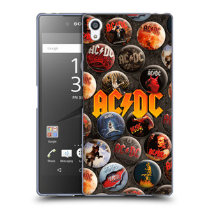 Silikonové pouzdro na mobil Sony Xperia Z5 Premium HEAD CASE AC/DC Placky