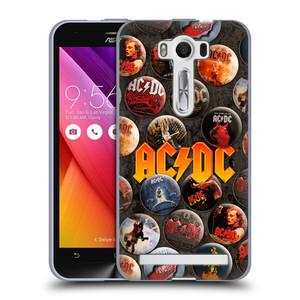 Silikonové pouzdro na mobil Asus ZenFone 2 Laser ZE500KL HEAD CASE AC/DC Placky