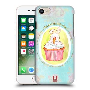 Plastové pouzdro na mobil Apple iPhone 7 HEAD CASE KRÁLÍČEK CUPCAKE