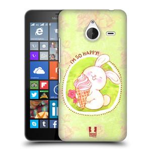 Plastové pouzdro na mobil Microsoft Lumia 640 XL HEAD CASE KRÁLÍČEK A ZMRZKA