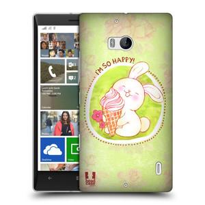 Plastové pouzdro na mobil Nokia Lumia 930 HEAD CASE KRÁLÍČEK A ZMRZKA