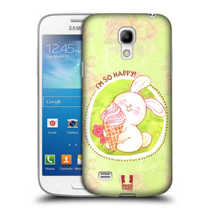 Plastové pouzdro na mobil Samsung Galaxy S4 Mini VE HEAD CASE KRÁLÍČEK A ZMRZKA