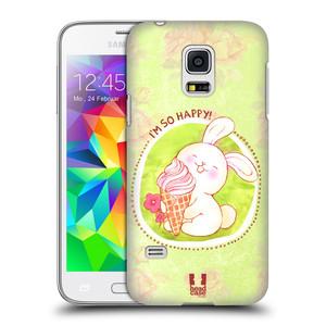 Plastové pouzdro na mobil Samsung Galaxy S5 Mini HEAD CASE KRÁLÍČEK A ZMRZKA