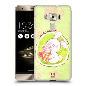Plastové pouzdro na mobil Asus ZenFone 3 Deluxe ZS570KL HEAD CASE KRÁLÍČEK A ZMRZKA