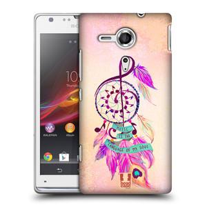 Plastové pouzdro na mobil Sony Xperia SP C5303 HEAD CASE Lapač Assorted Music