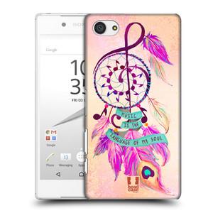 Plastové pouzdro na mobil Sony Xperia Z5 Compact HEAD CASE Lapač Assorted Music