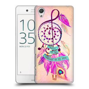 Plastové pouzdro na mobil Sony Xperia X Performance HEAD CASE Lapač Assorted Music