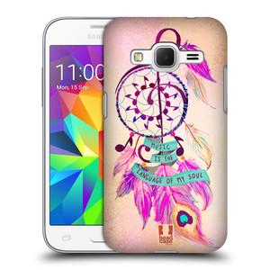 Plastové pouzdro na mobil Samsung Galaxy Core Prime LTE HEAD CASE Lapač Assorted Music