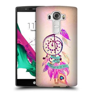 Plastové pouzdro na mobil LG G4 HEAD CASE Lapač Assorted Music