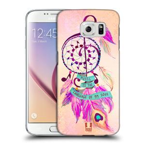 Plastové pouzdro na mobil Samsung Galaxy S6 HEAD CASE Lapač Assorted Music
