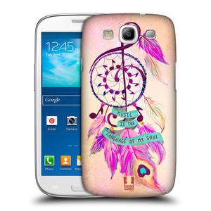 Plastové pouzdro na mobil Samsung Galaxy S III HEAD CASE Lapač Assorted Music