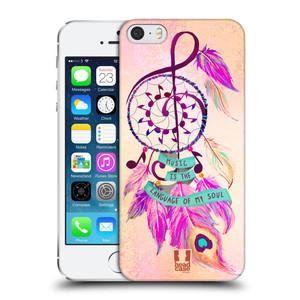 Plastové pouzdro na mobil Apple iPhone SE, 5 a 5S HEAD CASE Lapač Assorted Music