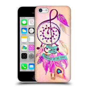 Plastové pouzdro na mobil Apple iPhone 5C HEAD CASE Lapač Assorted Music
