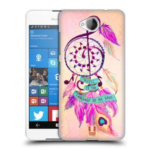 Plastové pouzdro na mobil Microsoft Lumia 650 HEAD CASE Lapač Assorted Music
