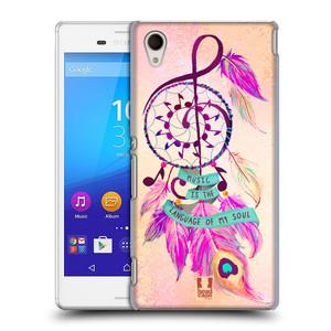 Plastové pouzdro na mobil Sony Xperia M4 Aqua E2303 HEAD CASE Lapač Assorted Music