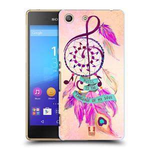 Plastové pouzdro na mobil Sony Xperia M5 HEAD CASE Lapač Assorted Music