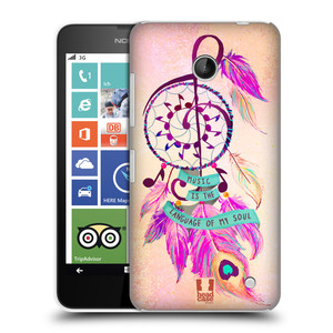 Plastové pouzdro na mobil Nokia Lumia 630 HEAD CASE Lapač Assorted Music