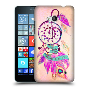 Plastové pouzdro na mobil Microsoft Lumia 640 HEAD CASE Lapač Assorted Music