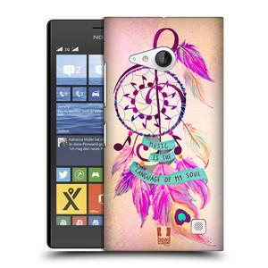Plastové pouzdro na mobil Nokia Lumia 735 HEAD CASE Lapač Assorted Music