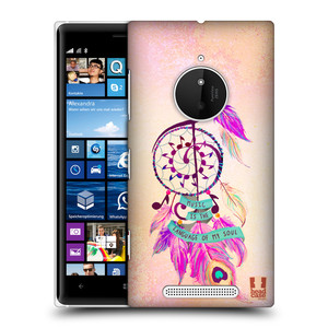 Plastové pouzdro na mobil Nokia Lumia 830 HEAD CASE Lapač Assorted Music