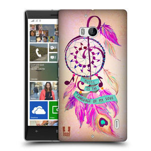 Plastové pouzdro na mobil Nokia Lumia 930 HEAD CASE Lapač Assorted Music