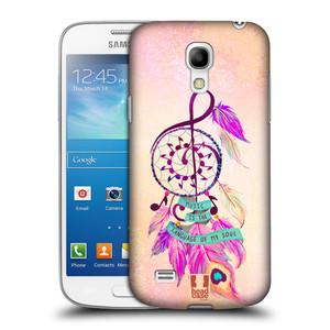 Plastové pouzdro na mobil Samsung Galaxy S4 Mini HEAD CASE Lapač Assorted Music