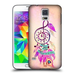 Plastové pouzdro na mobil Samsung Galaxy S5 HEAD CASE Lapač Assorted Music