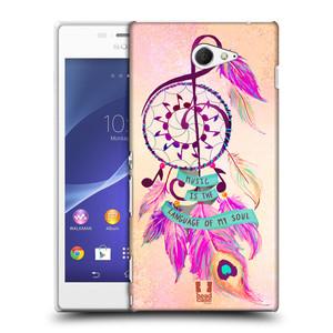 Plastové pouzdro na mobil Sony Xperia M2 D2303 HEAD CASE Lapač Assorted Music