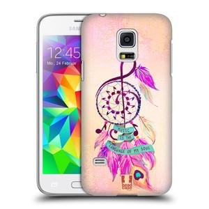 Plastové pouzdro na mobil Samsung Galaxy S5 Mini HEAD CASE Lapač Assorted Music