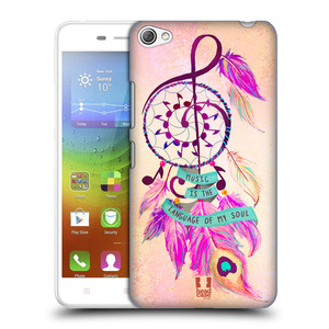 Plastové pouzdro na mobil Lenovo S60 HEAD CASE Lapač Assorted Music