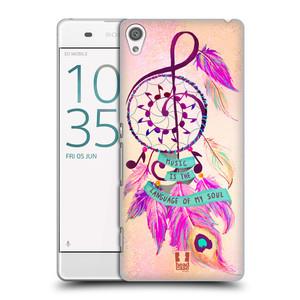Plastové pouzdro na mobil Sony Xperia XA HEAD CASE Lapač Assorted Music